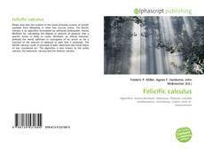 Capa do livro de Felicific calculus
