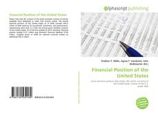 Bookcover of Financial Position of the United States