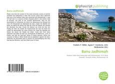 Bookcover of Banu Jadhimah