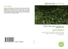 Copertina di Janet Baker