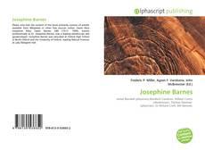 Portada del libro de Josephine Barnes