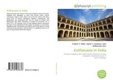 Portada del libro de Euthanasia in India