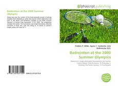 Badminton at the 2000 Summer Olympics kitap kapağı