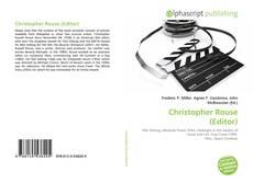 Copertina di Christopher Rouse (Editor)
