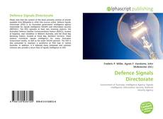 Bookcover of Defence Signals Directorate