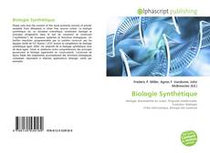 Обложка Biologie Synthétique