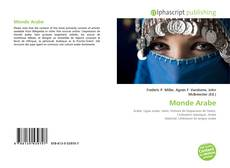 Bookcover of Monde Arabe