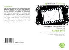 Buchcover von Claude Berri