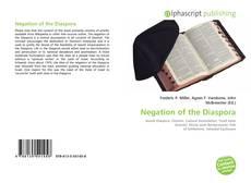 Copertina di Negation of the Diaspora