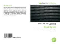 Couverture de Maud Burnett