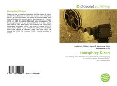 Capa do livro de Humphrey Dixon