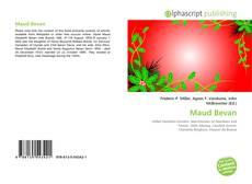 Bookcover of Maud Bevan