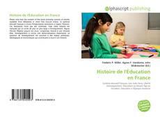 Couverture de Histoire de l'Éducation en France