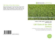 Couverture de CAF Clubs of the 20th Century