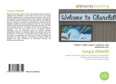 Bookcover of Tangra 2004/05