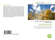 Bookcover of Wheeler Survey