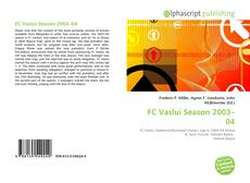 Bookcover of FC Vaslui Season 2003–04