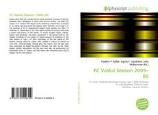 Bookcover of FC Vaslui Season 2005–06