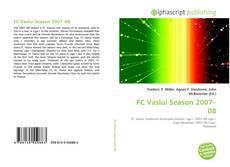 Bookcover of FC Vaslui Season 2007–08