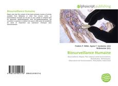 Bookcover of Biosurveillance Humaine