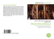 Clemens Maria Hofbauer kitap kapağı