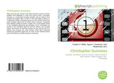 Bookcover of Christopher Guinness