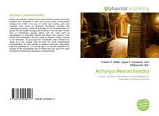 Bookcover of Acharya Hemachandra