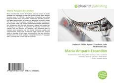 Bookcover of María Amparo Escandón