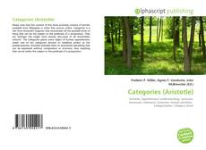 Buchcover von Categories (Aristotle)