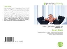 Bookcover of Leon Black