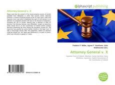 Attorney General v. X kitap kapağı