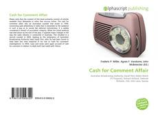 Bookcover of Cash for Comment Affair
