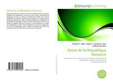 Bookcover of Sénat de la République Romaine