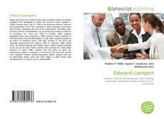 Bookcover of Edward Lampert