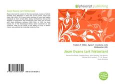 Bookcover of Joan Evans (art historian)