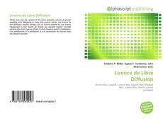 Buchcover von Licence de Libre Diffusion