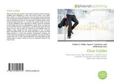 Buchcover von Clive Calder