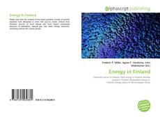 Energy in Finland的封面
