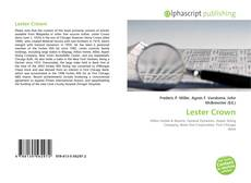 Bookcover of Lester Crown