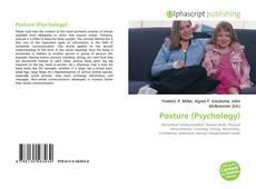 Buchcover von Posture (Psychology)