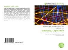 Capa do livro de Mowbray, Cape Town