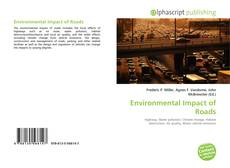 Bookcover of Environmental Impact of Roads