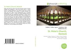 Bookcover of St. Peter's Church, Rostock