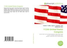 Bookcover of 112th United States Congress
