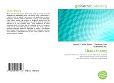 Bookcover of Chaos theory