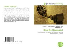 Portada del libro de Dorothy Davenport