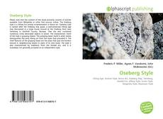Bookcover of Oseberg Style
