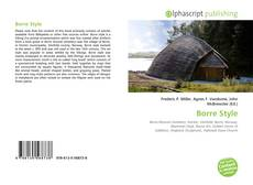 Bookcover of Borre Style