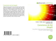 Bookcover of Conscience de Soi (Hegel)