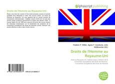 Droits de l'Homme au Royaume-Uni kitap kapağı